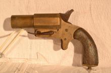 French WWI 25mm Very Pistol, Chobert -Paris 16 Rue Lafayette, s#24589