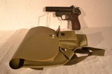 German 26.5mm Diana Signal Pistol, s# 35740 07/65, vinyl holster