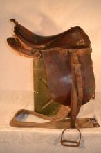WWII Imperial Japanese Cavalry Saddle, model 14
