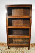 4 section barrister book case, 34