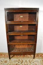 Lundstrom 4 section barrister bookcase, 34
