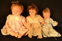 3 dolls by Ideal Toys