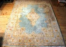 Mid 20th C Persian rug 9'x12'5