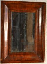 19th C Mahogany Ogee framed mirror