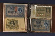Collection of foreign paper currency