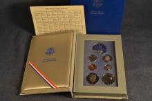 1986 US Liberty Prestige set; original box and paperwork