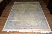 Chinese wool carpet, 8.6'x11.10'