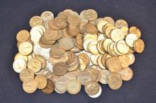 181 Washington quarters 1964 mint date, 35ozt