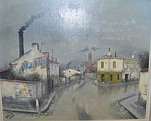 Gabriel FERRO (1903-1981)    Paris, le carrefo
