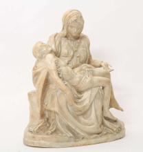 Marble Pietà, after Michelangelo