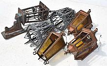 Group Lot Six Sconces - As Is