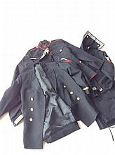 Six Pieces of Military Uniforms