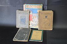 Five 20th Cen Children's Grammar and Picture Books