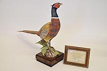 Royal Worcester Ring-Necked Pheasant Male