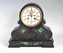 Japy Freres & Cie 1855 Marble Mantle Clock