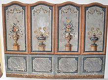 Ca. 1800 Continental 4 Panel Dressing Screen