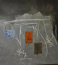 Ann Purcell (1941- ) Mixed Media on Canvas