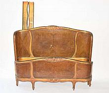 20th C. Semi-Antique Louis XV Full Size Bed Stand