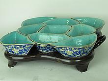 Chinese Porcelain Sweetmeat Set
