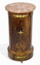 Empire Period Marble Top Pot Stand