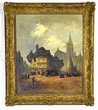 Henry Foley (1848-1876) Oil on Canvas