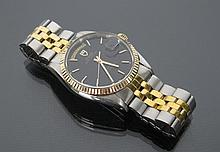 Gents 18K Yellow Gold & SS Oyster Tudor Rolex