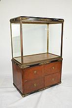 Early 20th C. Art Deco Vitrine Cabinet