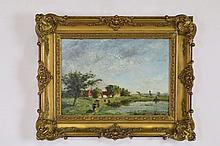Signed Impressionist Oil on Panel