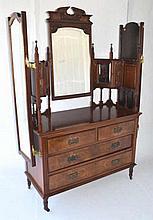 Vanity With Three Mirrors