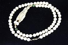 Chinese Carved Ivory Necklace