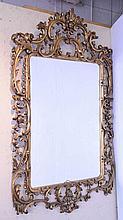 Louis XV Style Wall Gilt Mirror