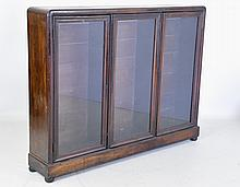 Antique Three Door Bookcase