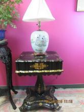 Asian Arts 19th Century Chinese Porcelain Jar Lamp