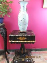 Asian Arts Porcelain Vase Lamp