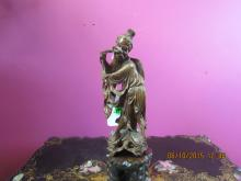 Chinese Loosewood Fisherman Statue
