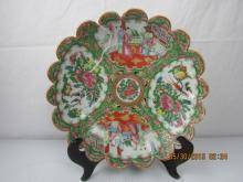 Asian Arts Famille Rose Dish