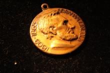Abraham Lincoln Watch FOB Illinois Watch Company. Circa 1909