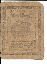 One and One-Third Dollar Colonial Currency MD 1776