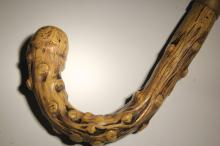 [Historical] Early 20th century cane with phallic shaped handle