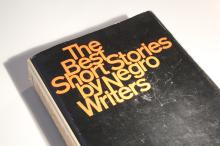 [Black Americana] Best Short Stories by Negro Writers SIGNED Langston Hughes Book 1967