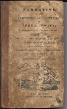 [Colonial] Rare Edition Narrative of the Adventures and Sufferings of John R. Jewett, 1815