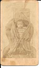 [Photography] CDV Nebraska Sioux Indian Baby in Papoose