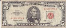 Currency Lot $5, $10, $20, 1928, 1934 $55.00 face value