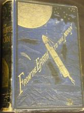 [Book] From the Earth to the Moon by Jules Verne. First American Edition 1874