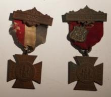 19th Century ladies relief corps medals