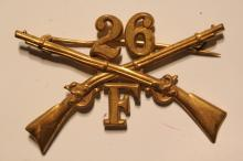 [Spanish American] 26th Infantry Company F Badge