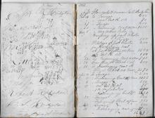 Schooner Gloucester Account Book, 1866