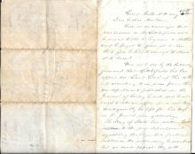 [Civil War] Civil War letter from Mrs. Littlefield regarding promotions and the Battle at Culpepper