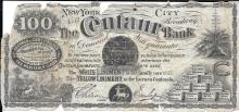 Centaur Bank, New York scrip for the linament oil