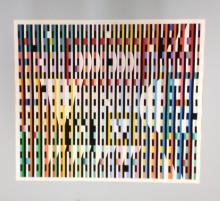 Agam, Unsigned Lithograph